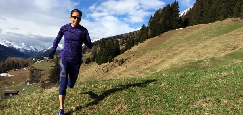 Prominente Verstärkung: Jasmin Nunige läuft für RUEDIRENNT.
