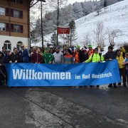 Was für ein herzlicher Empfang: Stiftung Bad Heustrich in Emdtal.