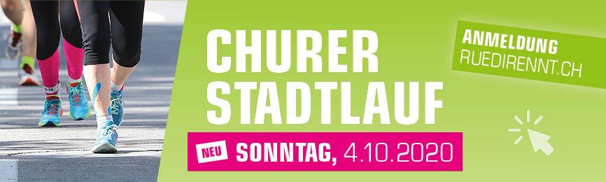 Churer Stadtlauf Neu Sonntag, 4. Oktober 2020